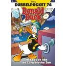 Donald Duck - Dubbel Pocket 74 - Het spook van de Caraïbische Zee